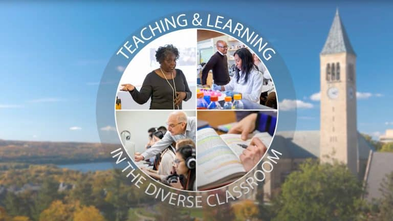 Cornell launches June inclusive teaching programs