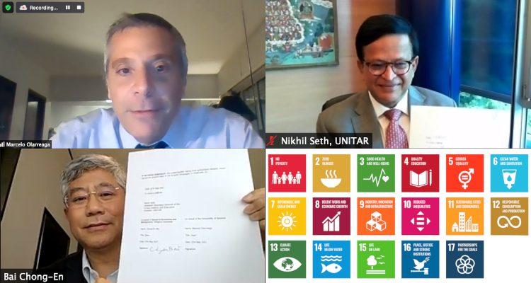 UNITAR, Tsinghua, and Geneva set global standards for SDG education and open innovation