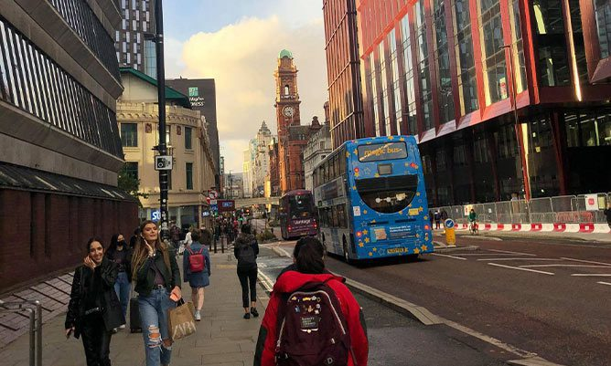 Positive sides of online learning at The University of Manchester